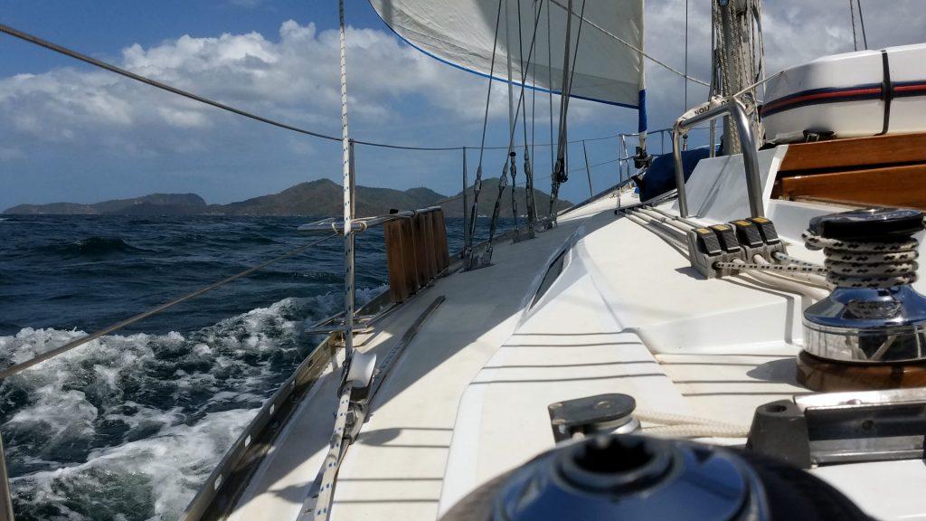 S/V Kulta Sailing in Trinidad